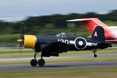 Vought F4U Corsair-10 (Clubber_Lang) Tags: airshow corsair farnborough f4u vought fia2016