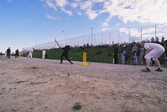 Calais Djungle - Cricket Match