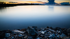 August in Sweden (ErikN86) Tags: sony sonydslr sweden sverige sea water long exposure sunset