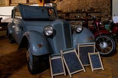 1937 DKW F7 Reichsklasse (The Adventurous Eye) Tags: 1937 dkw f7 reichsklasse muzeum janeck chotoviny classic car museum depository
