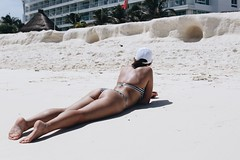 (aprilneverend) Tags: f14 50mm canoneos6d canon6d hot summer swimming girl tan tanning sunbathing beach mexico cancun