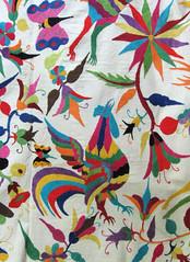 Genuine Otomi Embroidery Mexico (Teyacapan) Tags: otomi embroidery textiles hidalgo mexico tenangodedoria tenangos bordados sewing rooster