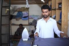 A tailor Shop in Peshawar (Akhuwat BPP) Tags: northerenareas pakistan interest free loans microfinance entrepreneurship pakhtoon ordinary people business akhuwat peshawar