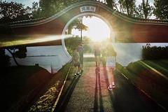 pokemon (mohamedyamin_masop) Tags: olympus toughtg4 fisheye street people sunset flare light ray park