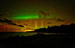 Aurora Borealis September 11 2015 (dansandin) Tags: aurora outdoor nightsky