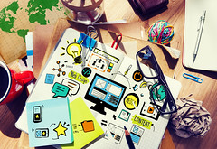 Web Design Content Planning Strategy Working Concept (s.abercrombie) Tags: analytics coffee computer contemporary content design desk drawing education freeimage glasses groupofobjects home idea internet map media messy network notebook office online optimization paperwork pen pencil placeofwork programming quality responsive responsivedesign seo studytable web webdesign webdevelopment webpage work workplace