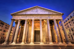 Early Morning Pantheon (Presetpro) Tags: adobelightroom adobelightroompresets aurorahdr blendinglight blue canon1635mm clouds cloudy exposurevalue hdr hdrphotography highdynamicrange italy lightroomediting lightroompresets lightroompresetspack lightsreflecting morning pantheon pastelcolours photomatixpresets photoshop rome romeitaly tim timmartin travel travelphotography tripod tripods