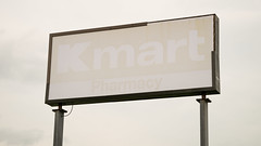 Kmart goes blank... (Nicholas Eckhart) Tags: america us usa 2016 retail stores fremont ohio oh former closed shuttered vacant abandoned empty kmart superkmart discountstore supercenter hypermarket