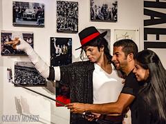 Selfie With Michael Jackson (kazmorris) Tags: madame tussauds michaeljackson selfie phone photograph waxworks bad thriller
