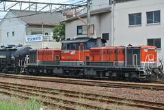 yokkaichi14881 (tanayan) Tags: mie yokkaichi japan nikon j1    jr dd51 train railway locomotive