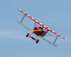 An Old Fokker! (edmason88) Tags: oldfokker biplane german firstworldwar worldwarone radiocontrol scale tamron150600 strathconacounty alberta