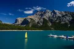 Lake Minnewanka (ttl-jw) Tags: rockymountains banff banffnationalpark nikon nikond750 lightroom canada national parks canadanationalparks alberta lake water mountain lakeminnewanka