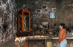 Shrine of San Miguel (Lawrence OP) Tags: prayer shrine miguel stmichael candles mexico