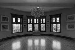 DSC00163 - Emptiness (Syed HJ) Tags: sonyalpha7r sonya7r sony a7r sonyilce7r ilce7r canonef1635mmf28liiusm canonef1635mmf28lii canonef1635mmf28l canon1635mm 1635mm canon casalomatorontooncanada casaloma toronto ontario canada blackwhite blackandwhite bw window windows architecture