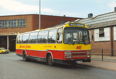 ME (steve vallance coach and bus) Tags: bvp775v leylandleopard plaxton midlandred midlandexpress midlandredwest kidderminster