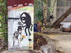 Artist Robithedog and Noriaki in Berlin (StreetartMerlin007) Tags: ipad robithedog noriaki streetart love colors streetartberlin berlinstreetart berlin streetphoto