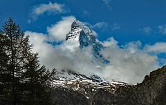 Thanks for the short showing (werner boehm *) Tags: wernerboehm matterhorm zermatt landscape berg wolken schweiz swiss alps alpen