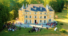 Wedding in France (Ookpik Photo Video Drone) Tags: wedding mariage france chateau castle happy party