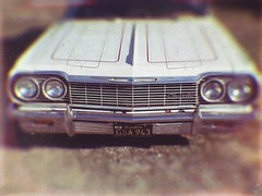 Going back to Cali (BLACK EYED SUZY) Tags: cali impala chevy vintage auto convertible tadaa mextures afterlight grill retro car explore