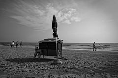 Au revoir t... (Paolo Pizzimenti) Tags: plage t automne parasol aurevoir temple atlantide comacchio cervia paolo olympus zuikopenf 12mm f2 film pellicule argentique