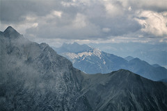 Over the mountains (Catalin M.C.) Tags: mountains muni munte mountaineering hiking trekking berge alps alpen zugspitze zugspitzland deutschland germany germania