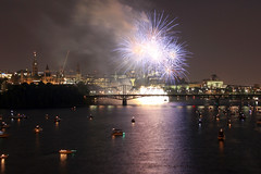 Sound of Light 2016 (Caleb Ficner) Tags: ottawa calebficner parliament parliamenthill parliamentofcanada peacetower fireworks ottawariver kitchissippi outaouais night