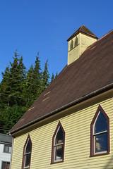 Ketchikan, Alaska - St Elizabeth Church (now Ketchikan Mortuary) (jrozwado) Tags: northamerica usa alaska ketchikan kichxan church stelizabeth mortuary