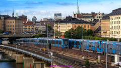 Stockholm, Sweden: Gamla Stan transfer station, Red & Green Line (nabobswims) Tags: gamlastan hdr highdynamicrange lightroom metro nabob nabobswims photomatix se sl stockholm sweden tbana tunnelbana stockholmin subway ubahn
