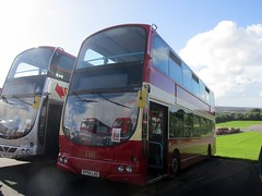 First Midlands 32634 KP54LAO Donington Park Circuit attending Showbus 2016 (1280x960) (dearingbuspix) Tags: first preserved showbus showbus2016 firstpotteries pmt potteriesmotortraction kp54lao 32634 firstmidlands