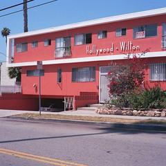 Surveillance, Hollywood Wilton (ADMurr) Tags: film la kodak surveillance hasselblad hollywood 80mm ektar onewhitecar