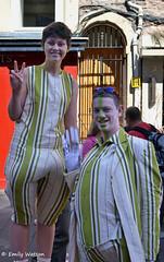 2 Street Performers - Edinburgh Festival Fringe (Emz.watson) Tags: sea blackandwhite music streets green rooftop smiling festival clouds radio landscape boats coast scotland actors tv seaside scary scenery edinburgh comedy singing live seagull arts august fringe flags haunted spooky celebration musical acting horror housing streetperformer concerts celebs zombies venue drama performers highstreet coloursplash 2012 t4 lionrampant edinbugrh splashofcolour leaflets standupcomedy emilywatson thrilling performence nikond3100
