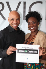 Yvondra and Gordon Hayes are Cashback Winner! (market.america1) Tags: money winner cashback marketamerica gordonhayes yvondrahayes