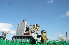 Finaly a silent moment... (Rebla) Tags: silent lego wwii german micro ww2 fp forcedperspective sturmpanzer