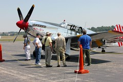 Collings Foundation-Betty Jane TP-51c Mustang (LuAnn Snawder Photography) Tags: county airport clark collingsfoundation bettyjane aviationhistory wingsoffreedomtour tp51cmustang