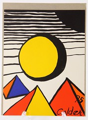2063. Alexander Calder, United Nations Lithograph