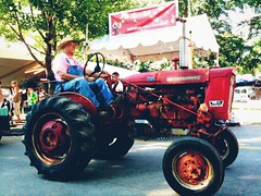 tractor parade (ekelly80) Tags: summer tractor washingtondc dc maryland fair parade countyfair gaithersburg montgomerycountyfair august2012
