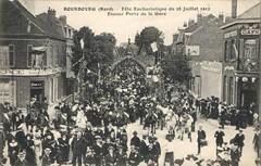 Bourbourg (Nord) - Fête Eucharistique du 28 Juillet 1912 - Fausse Porte de la Gare
