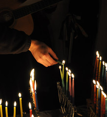 "Hannukah Celebration • <a style=""font-size:0.8em;"" href=""http://www.flickr.com/photos/13831765@N07/7789190726/"" target=""_blank"">View on Flickr</a>"