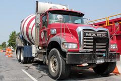 Greco Bros. #65 | Mack Granite (Vinny Schiano) Tags: nyc truck mixer dumptruck granite trucks statenisland mack peterbilt kenworth t800 nycconstruction kenwortht800 mackgranite