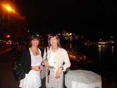 With Vera in Prague - Vltava River (Alessia Cross) Tags: tgirl transgender transvestite crossdresser travestito