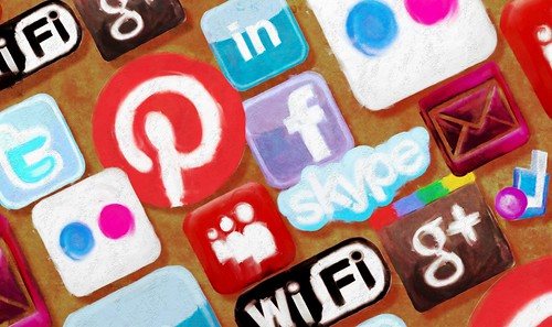 Social Networks -- A background pic for by royblumenthal, on Flickr
