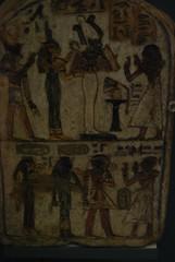 Amenhotep I and Ahmose Nefertari on a stele (konde) Tags: limestone horus stele britishmuseum isis osiris ancientegypt amenhotepi newkingdom 19thdynasty ahmosenefertari sitkamose