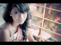 Kazuko (Shutterfreak ☮) Tags: portrait girl smile lines vintage daylight eyes nikon bokeh crossprocess retro dhaka bangladesh hasin d5000 35mmf18g inkiad