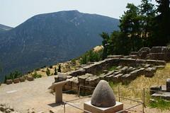 Delphi (Δελφοί) Greece, Aug 2012. 05-133c (megumi_manzaki) Tags: archaeology greek ancient delphi greece worldheritage delphoi