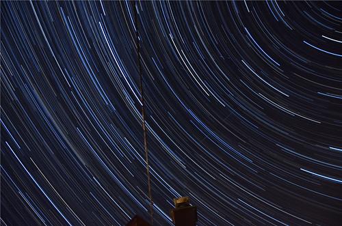 Stars trails