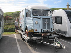Citroen H at West Bay (andreboeni) Tags: auto classic cars french citroen retro commercial oldtimer autos van camper motorhome hy campervan voitures fourgon typeh campingcar typh