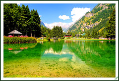 Green water (Tizi@no56 (painting with light)) Tags: lake water montagne lago monterosa acqua riflessi valledaosta gressoney mounth verdeacqua thegalaxy platinumheartaward reflession mygearandme mygearandmepremium nikonclubit dblringexcellence rememberthatmomentlevel1 me2youphotographylevel1