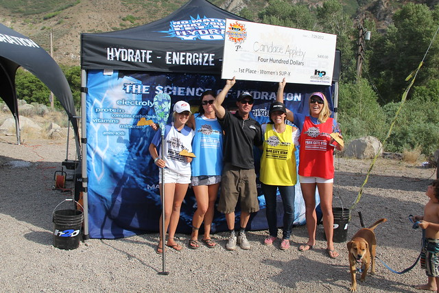 Candice Appleby won women's SUP-Cross; G-Former Nikki Gregg scored 3rd place