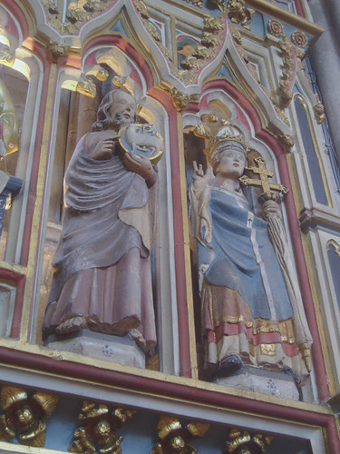 St John Baptist & St Thomas Becket, Hereford Cathedral
