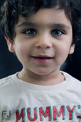 ~{ Sayed Joseph~ (F J . S H A R I F) Tags: blue boy portrait baby cinema male studio joseph effects 50mm photo bahrain kid model child young indoor 2012 yousif      550d            fjsharif